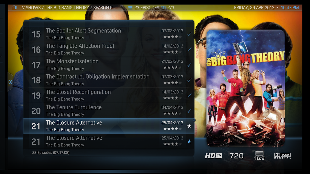 Duplicate movies in XBMC